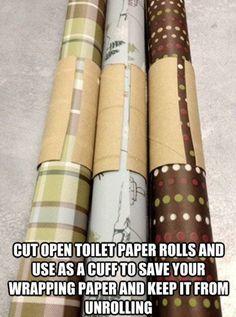 Gift wrap helper....