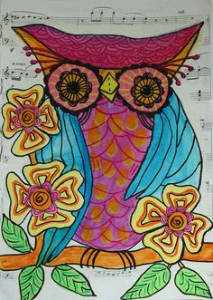 Purple Owl.