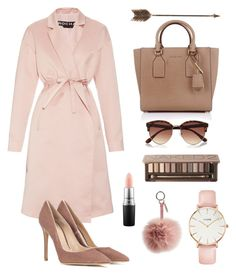 """Nude shades"" by kikistylealert on Polyvore featuring Urban Decay, Michael Kors, Fendi, River Island, Rochas, Gianvito Rossi, CLUSE, MAC Cosmetics, Creative Co-op and women's clothing"