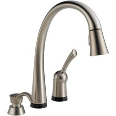 Moen 7594srs Arbor One Handle High Arc Pull Down Kitchen Faucet