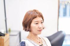 #짧은단발#숏컷#베이비뱅#처피뱅#내추럴웨이브#shorthair#韓國美容室#디자이너주연