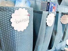50 Ideas Hair Accessories Organizer Ideas Cabinet Doors For 2019 Door Shoe Organizer, Linen Closet Organization, Storage Organization, Household Organization, Diy Storage, I Heart Organizing, Shoe Holders, Organizing Hair Accessories, Pantry Design