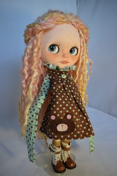 Blythe Doll Lillie OOAK Custom by Pariszhenpink door pariszhenpink