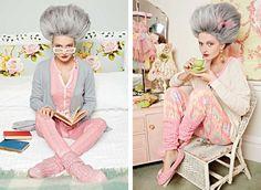 Style Collective - Nana Chic by Peter Alexander - Womens Sleepwear, Lounge Wear and Pyjamas Cuppa Tea, Warm Fuzzies, Sleepwear Women, Marie Antoinette, Pyjamas, Urban Fashion, Lounge Wear, Fashion Photography, Girly