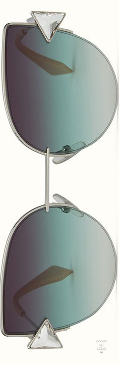 Fendi Women's Rainbow Sunglasses with Crystals