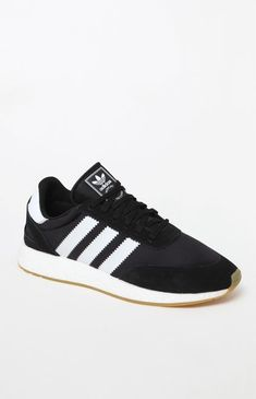 size 40 27717 076da adidas I-5923 Black White and Gum Shoes