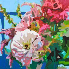 Spring Garden. Oil painting by Kate Mullin. www.katemullinart.com