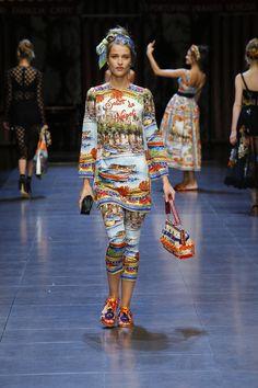 So love these Dolce & Gabanna Italia Is love leggings. would skip tunic.