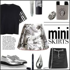 how to wear mini skirts with sneakers 2
