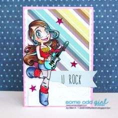 #SomeOddgirl #RockerMae #EllenH