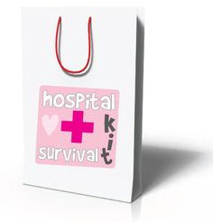 Hospital Survival Bag for the new mom