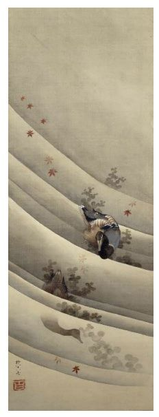 Ducks, Hokusai, Grand Palais