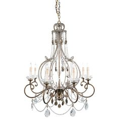 I pinned this Milano Chandelier from the ARTERIORS Home event at Joss and Main!