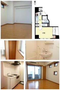 Tokyo Shinjuku Apartment for Rent ¥83,000 @Kagurazaka 5mins 21.62㎡ Please Ask shion@jafnet.co.jp