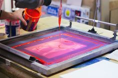 Tind 25 Screen Printing Process, Posters, Poster Prints, Under Construction, Art, Hipster Stuff, Art Background, Kunst, Poster