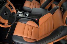 Mercedes 500 SEC - custom project by Carbon Motors; custom leather upholstery, trim set, etc. Mercedes 500, Custom Leather, Motors, Car Seats, Automobile, Cars, Vehicles, Car, Motor Car