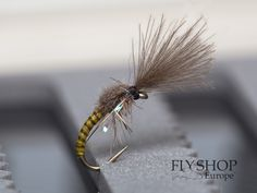 May Fly Spent. Cracking dry fly for selective grayling and also trout. CDC wing in V shape and long fine tail leaves a perfect footprint on the water surface. Walleye Fishing, Fishing Lures, Ice Fishing, Carp Fishing, Fishing Tackle, Fishing Stuff, Fishing Reels, Fly Fishing For Beginners, Fishing Tricks