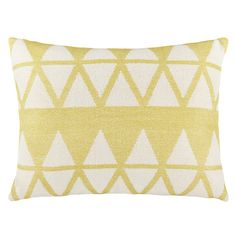 Buy John Lewis Triangles Cushion Online at johnlewis.com