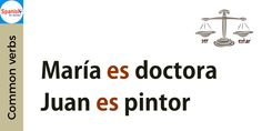 The verb SER is used to describe the ocupation or profession: