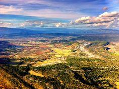 Vue du Pic-Saint-Loup  Languedoc Roussillon - France