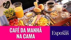 Café da Manhã na Cama Surpreendente e Especial Cooking Recipes, Cheese, Pasta, Food, Youtube, Bed And Breakfast, Good Day Coffee, Plain Cake, Happy Marriage