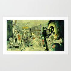Avenida revolucion Tijuana, Mexico 2097 Art Print by charles glaubitz