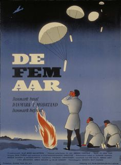 De fem år  (Theodor Christensen DK, 1955) An authentic and documentary films about the occupation of Denmark, Resistance and Liberation. Thanks to the brave Danish film people's efforts succeeded in this country to film much of the Resistance and the decisive events that characterized the years 1940-45. http://www.dfi.dk/faktaomfilm/film/da/22386.aspx?id=22386