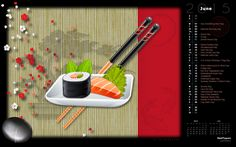 Sushi Day (Rendered by  Erik Pedersen)