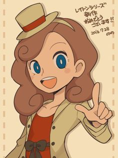 katrielle layton | Tumblr Character Inspiration, Character Design, A Hat In Time, Danganronpa Memes, Female Protagonist, Game Concept Art, Aesthetic Gif, Illustration Girl, Videogames