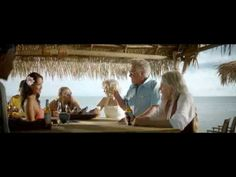 dead celebrities hiding out on an island, drinking bavaria beer.