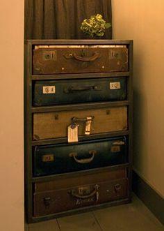 Suitecase + Dresser