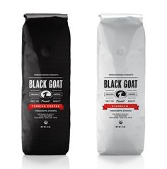 30 Creative Coffee Packages - The Dieline - Black Goat Coffee