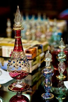 Egyptian Bottles by li.zhao.86, via Flickr