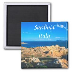 Sardinia Gifts - T-Shirts, Art, Posters & Other Gift Ideas. Refrigerator magnet Fridge magnet.
