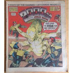 2000 AD #397 December 1984 UK Paper Sci Fi Comic
