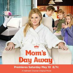 """Its a Wonderful Movie - Your Guide to Family Movies on TV: Bonnie Somerville stars in Hallmark Movie """"Mom's Day Away"""""""
