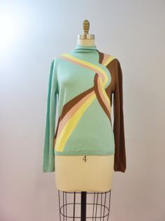 Love Your Curves l Vintage Gianni Versace Couture Sweater #mint