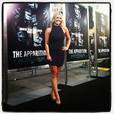Winston-Salem native Julianna Guill rocks the black carpet at 'The Apparition' premiere!