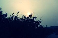 evening sunset icheon-si