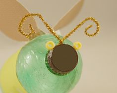 bottle cap bug craft