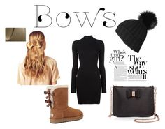 """Bows✌🏻️"" by www-krawolle on Polyvore featuring Mode, Ted Baker, UGG, adidas Originals, Black und Hershesons"