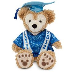 Duffy the Disney Bear Plush - Grad Nite 2012 - 12'' | Disney StoreDuffy the Disney Bear Plush - Grad Nite 2012 - 12'' - Our fluffy Duffy the Disney Bear toy is overstuffed with plush pomp and circumstance and dressed in a commemorative cap and gown for his big Grad Nite 2012 celebration at the Disney Parks!