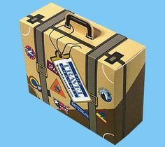 Suitcase box... Who could resist opening this?!?