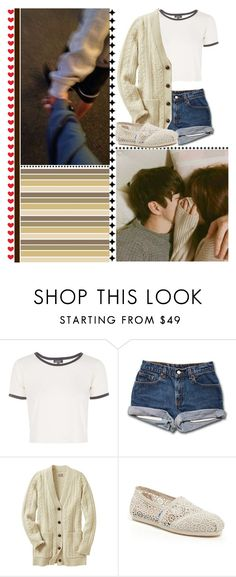 """""""Part 2 ~ When I Realized"""" by lola-twfanmily ❤ liked on Polyvore featuring Topshop and TOMS"""