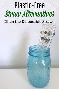 Plastic-free straw a