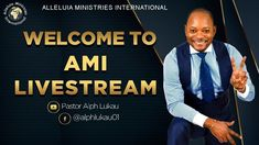 Let's Pray with Pastor Alph LUKAU   Saturday 21 August 2021   AMI LIVEST... Why Pray, Let's Pray, Youtube Page, Live Today, Holy Ghost, Prayer Request, Names Of Jesus, Free Reading