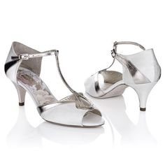 Art Deco Bridal Peep Toes Rachel Simpson New Collection - Tilly