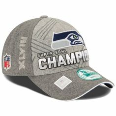 f76fca6be7cdc New Era Seattle Seahawks Super Bowl XLVIII Champions 9FORTY Trophy  Collection Locker Room Adjustable Hat - Gray
