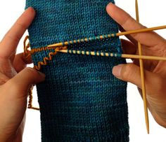 How to Knit an Afterthought Heel - For Dummies