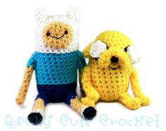 Finn And Jake Amigurumi Patterns Free : 1000+ images about Amigurumi on Pinterest Adventure time ...